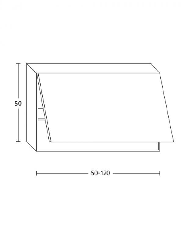 ארון עליון קלפה Flat+ / Flat